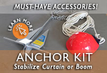 Turbidity Barrier Anchor Kit