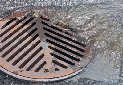 Round Over Grate Drain Cover Filter